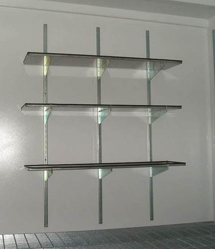 Adjustable Garage Shelving Ideas