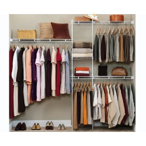 cheap closet organizers organize your closet for. Black Bedroom Furniture Sets. Home Design Ideas