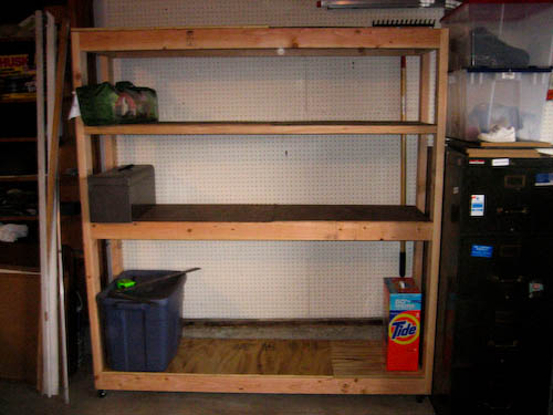 Cheap Garage Shelving