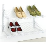 Rubbermaid Shoe Shelves