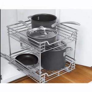 Slide Out Kitchen Cabinet Shelf