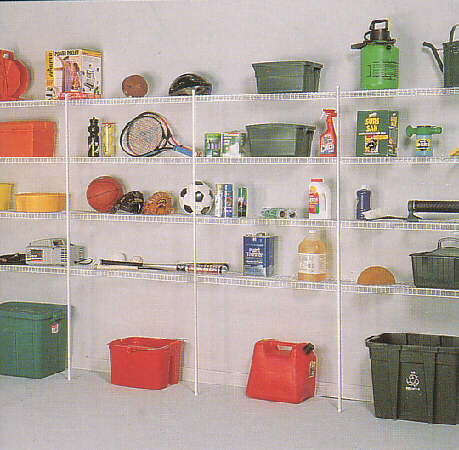 Wire Garage Shelving