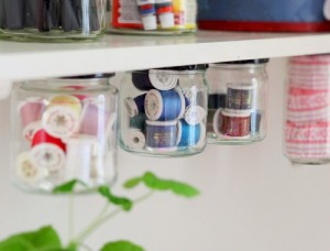 Glass jar canisters