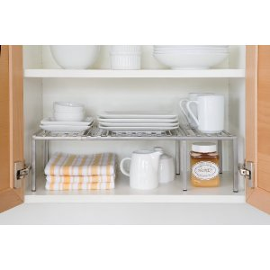 Kitchen Cabinet Organizer - Shelf Helper