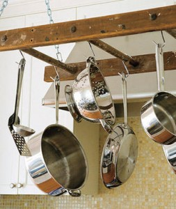 Ladder Pot Rack
