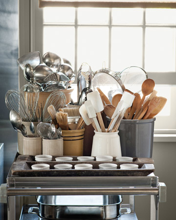Martha Stewart Kitchen Storage Cart