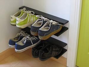 Shoe grabber rack 1