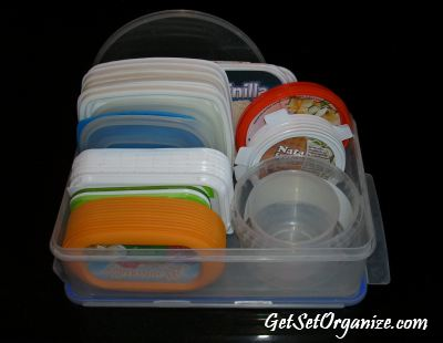 My Organized Lids