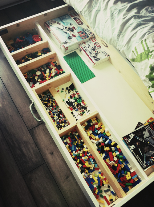 Daniel Sicolo Under Bed Lego Storage