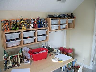 Legos In Trofast System 2