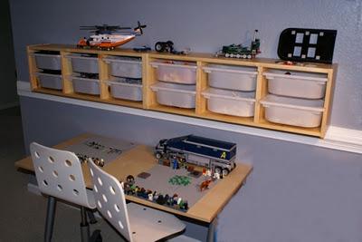 Legos In Trofast System