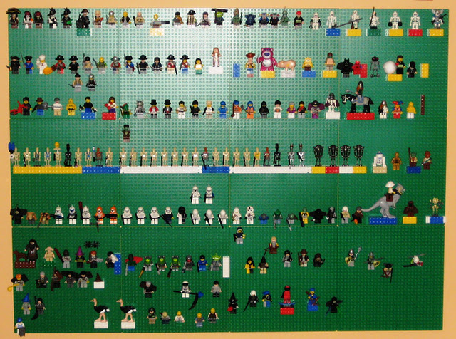 Milk And Cookies Lego Wall