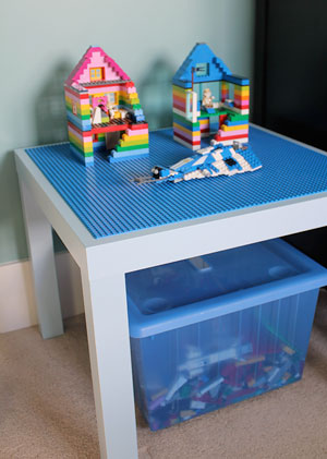 Ordinary Mom Lego Table