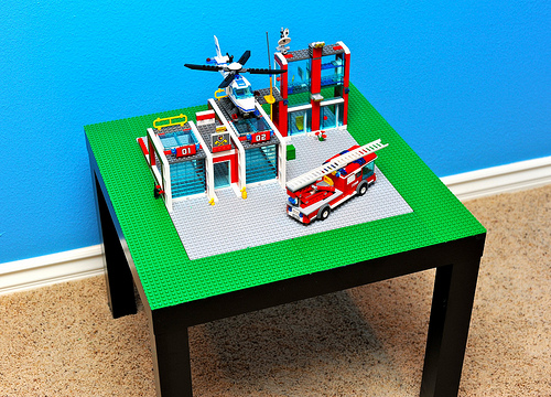Skip To My Lou Lego Table