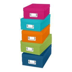 Whitmor Organizer Boxes
