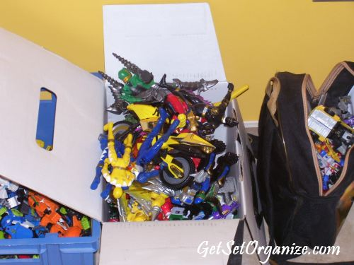 Boxes Of Toys
