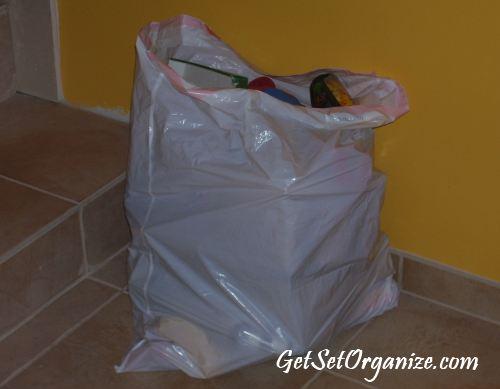 Trash Bag Of Toys