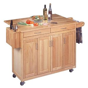 Get Organized With Kitchen Island Storage Rolling Carts